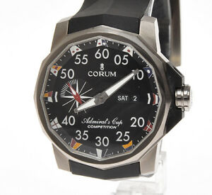 Corum-48mm-Admiral-039-s-Cup-Competition-automatic-titanium-large-case-new-in-box