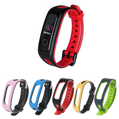 Band 3e Neu Silikon Uhrenarmband Armband Uhr Strap für Huawei Honor 4 Running