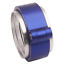 HD-Clamp-V-band-Flange-Assembly-Fits-3-034-INCH-76mm-Turbo-Dump-Pipe-Blue thumbnail 4
