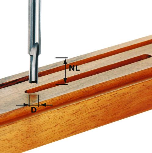 Festool nutfräser HW tige 8 mm Plein-Carbure-Divers Diamètre