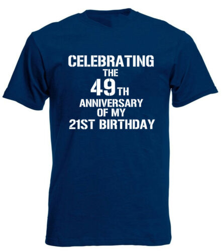 Celebrating 70th T-Shirt funny mens 70th birthday gifts presents ideas for him