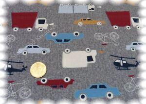 Fleet-Shirt-Stretch-Jersey-grau-Hilco-Shirtstoff-Fahrzeuge-25-cm