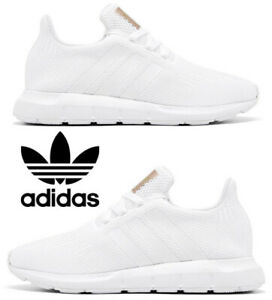 Adidas-Swift-Run-Sneakers-Casual-Shoes-Women-039-s-Running-Athletic-Comfort-White