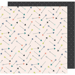 """Dear Lizzy Saturday Double-Sided Cardstock 12""""X12""""-The Empire"""
