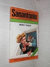 BERU DADA Le inchieste del commissario Sanantonio 98 Mondadori 1978 libro giallo
