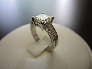 2ct-Princess-Cut-Design-Diamond-Solitaire-Engagement-Ring-14k-White-Gold-Finish