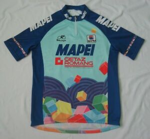 f70118361 Image is loading Mapei-Sportful-Romminger-Classic-rare-vintage-cycling- jersey-