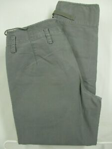 Wallace-amp-Barnes-Mens-Olive-Flat-Front-Cotton-Flight-Pants-Size-32-34x30