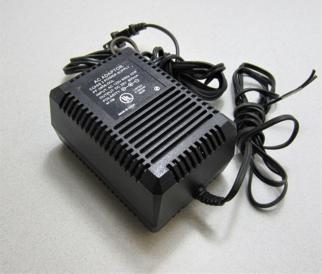 AC Adapter PF-2808-DUL 28VDC Output Class 2 Power Supply