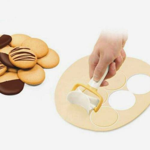 Cookie Wheel Slice Dough Slice Multi-function Pastry Household Kitchen Tools HO3