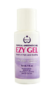 Biotouch ezy gel topical anesthetic 1 oz for Topical analgesic for tattoos