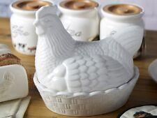 Gli agricoltori mercato CERAMICA GALLINA Nest Egg Holder Storage