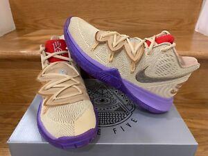 e519fe992ec2 Concepts X Nike Kyrie 5 PE Ikhet QS Beige Purple CI0295-900 Sz 8.5 ...