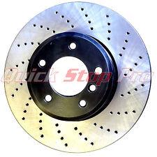 SUB015FDO WRX STi 2004 - 2014 5x100 5x114.3 Performance Brake Rotors Cross Drill