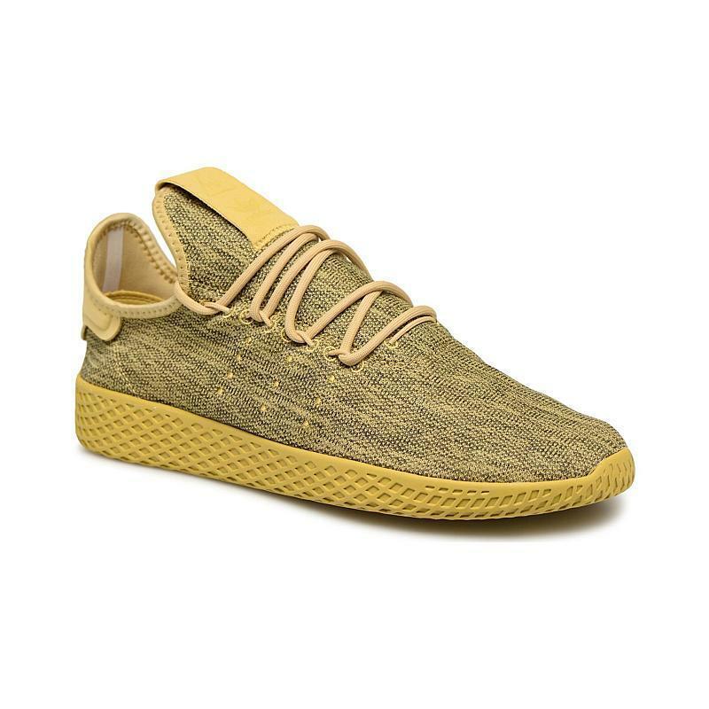 Adidas Originals Pharrell Williams Tennis Hu Yellow DB2860 Mens Size 13