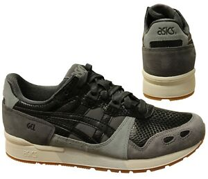 Details about Asics Tiger Gel-Lyte Grey Black Lace Up Shoes Womens Trainers  1192A025 020 B91D