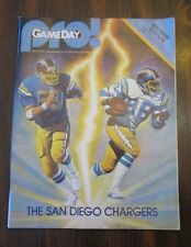 NFL Pro Game Day San Diego Chargers Vs Cleveland Browns September 7, '81 Program
