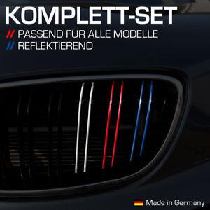 Nierenaufkleber für alle BMW Autos Dunkelblau Rot Weiß Hellblau Reflektierend