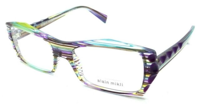 Alain Mikli RX Eyeglasses Frames A03031 3086 53x17 Purple Violet ...
