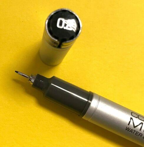 Stärken wählbar Pigmentliner Schwarz Refill NEU! COPIC Multiliner SP versch