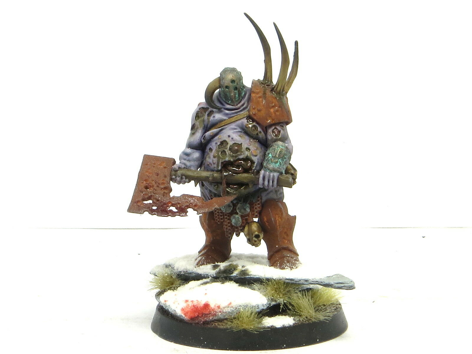 LORD OF PLAGUES  -  Painted Maggotkin of Nurgle Chaos Age Of Sigmar Army