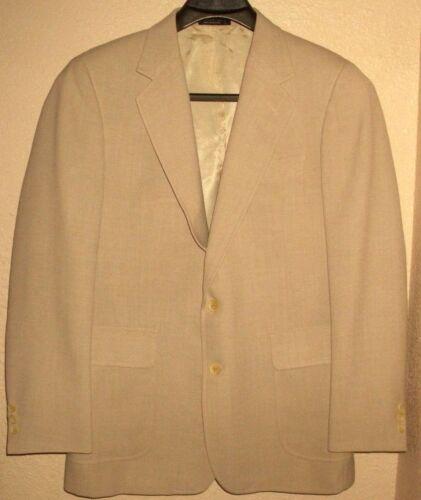 Giacca 40r da misto Hill di Blazer Giacca beige Archer uomo in 2 uomo da sportiva bottoni lana 4xXq0rwg4