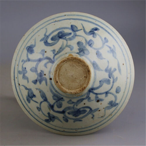 Chinese Old Blue and White Single Phoenix Pattern Porcelain Bowl