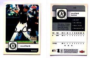 Doug-Clark-Signed-2006-Fleer-156-RC-Card-San-Francisco-Giants-Auto-Autograph