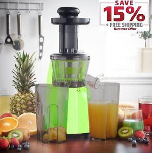Legend Premium Slow Masticating Juicer : Legend Premium Slow Masticating Juicer Electric vegetable Juice Extractor eBay