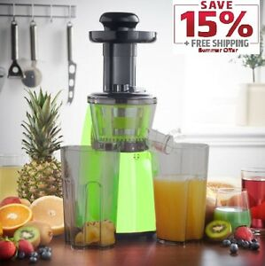 Legend Premium Slow Masticating Juicer Electric vegetable Juice Extractor eBay