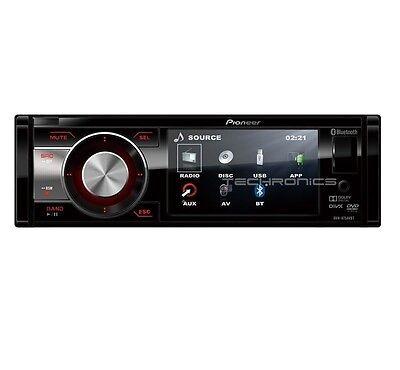 "PIONEER DVH-885AVBT 3.5"" COLOR DISPLAY CD MP3 IPOD IPHONE BLUETOOTH USB RECEIVER"