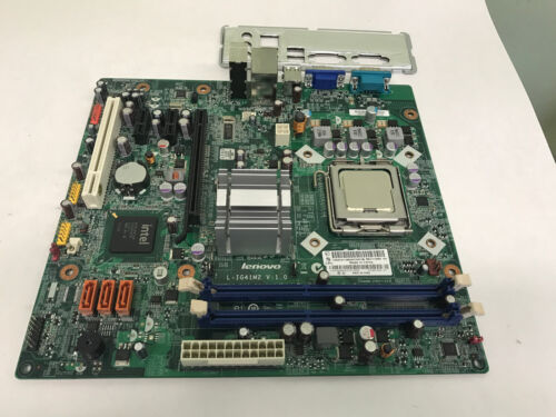 IO plate Lenovo L-IG41M2 V:1.0 ATX Motherboard ThinkCentre A70 with CPU