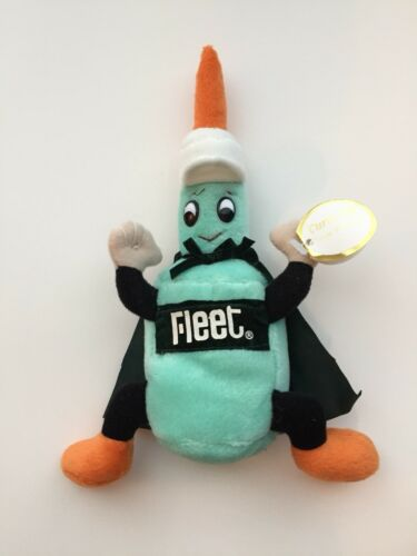 """Fleet Eneman Mascot  Plush Toy 8/' By Curto /""""Rare Find/"""" Last Lot Available"""