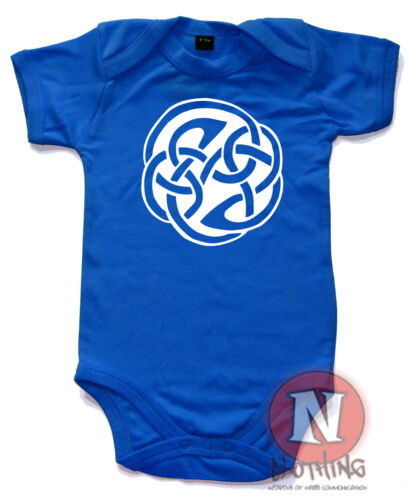 Celtic Knot goth Tribal Gothique Mignon Sweet Babygrow bébé gilet toutes tailles neuf