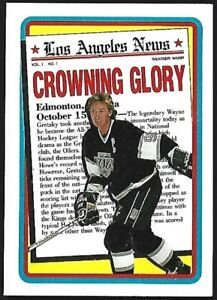 WAYNE-GRETZKY-1990-Topps-Crowning-Glory-Los-Angeles-News-3