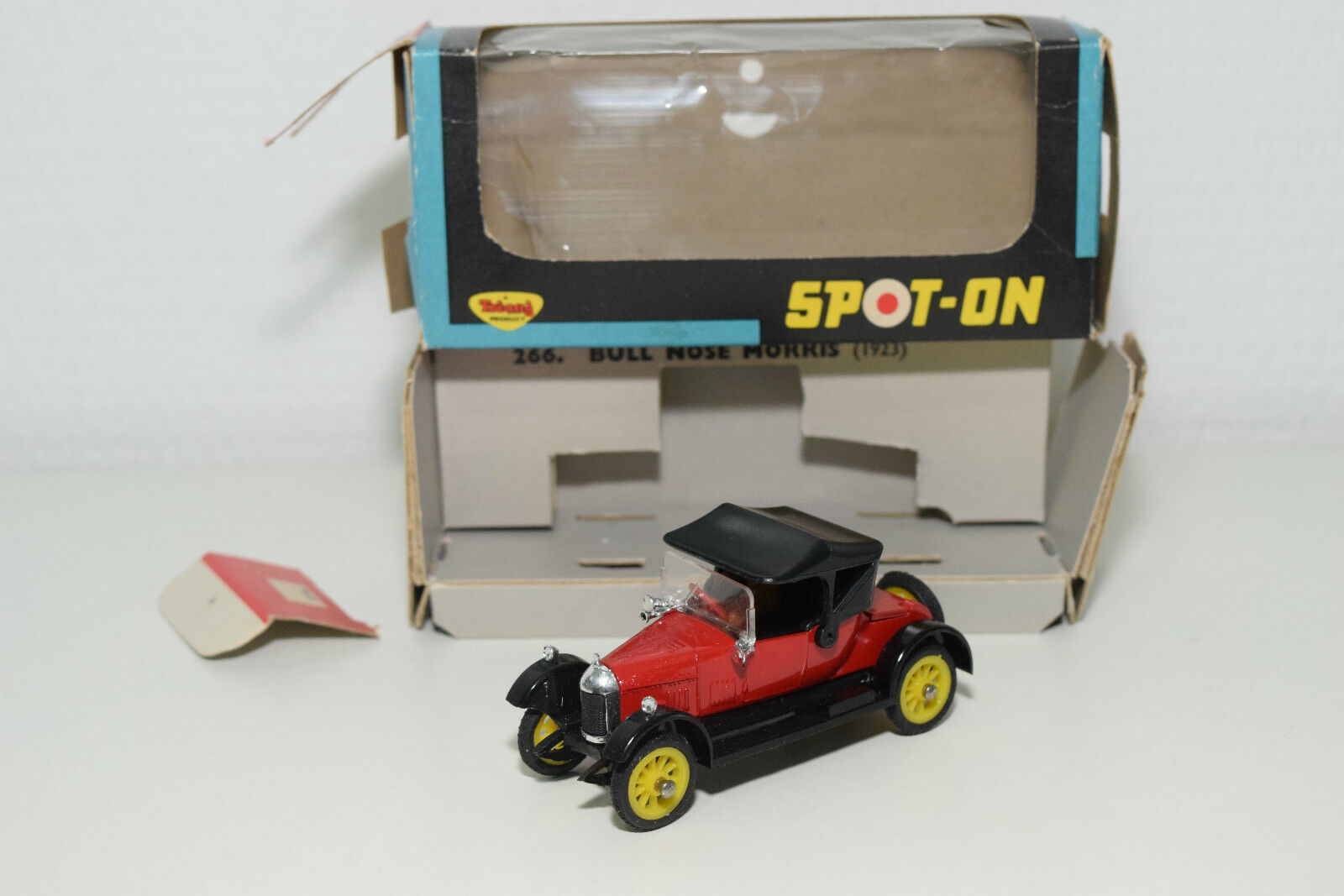 SPOTON SPOT-ON SPOT ON 266 BULL NOSE MORRIS 1923 rot MINT BOXED