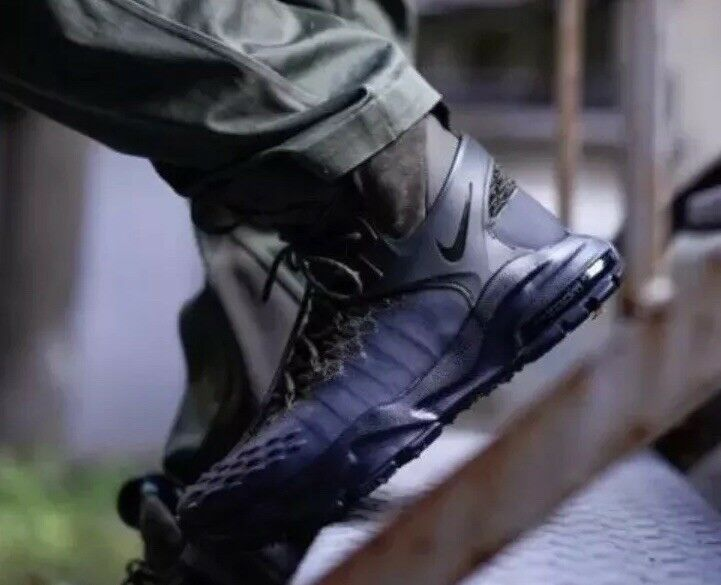 Nike Zoom sizec Flyknit ACG Nikelab Boot Cargo Khaki Black SZ 8.5 (865947-002)
