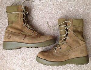 Belleville Usmc Marine Corps Combat Boots Coyote Tan