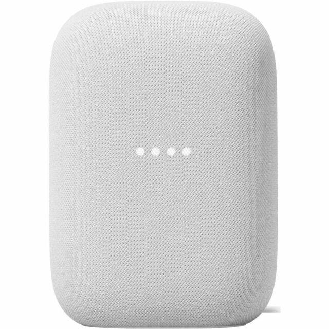 Google Nest Audio Smart Home Speaker Google Assistant (Chalk)