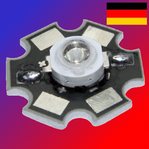 + G kw WW-Eek A 3w highpower LED chip en Star placa 700ma-colores: R B