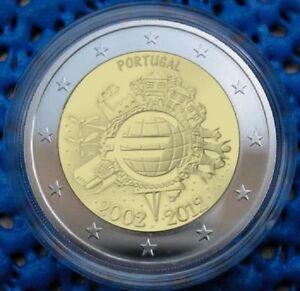 manueduc-PORTUGAL-2012-2-EUROS-DECIMO-ANIVERSARIO-TYE-NUEVOS