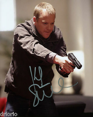REPRINT - KEIFER SUTHERLAND 24 Jack Bauer autographed signed photo copy