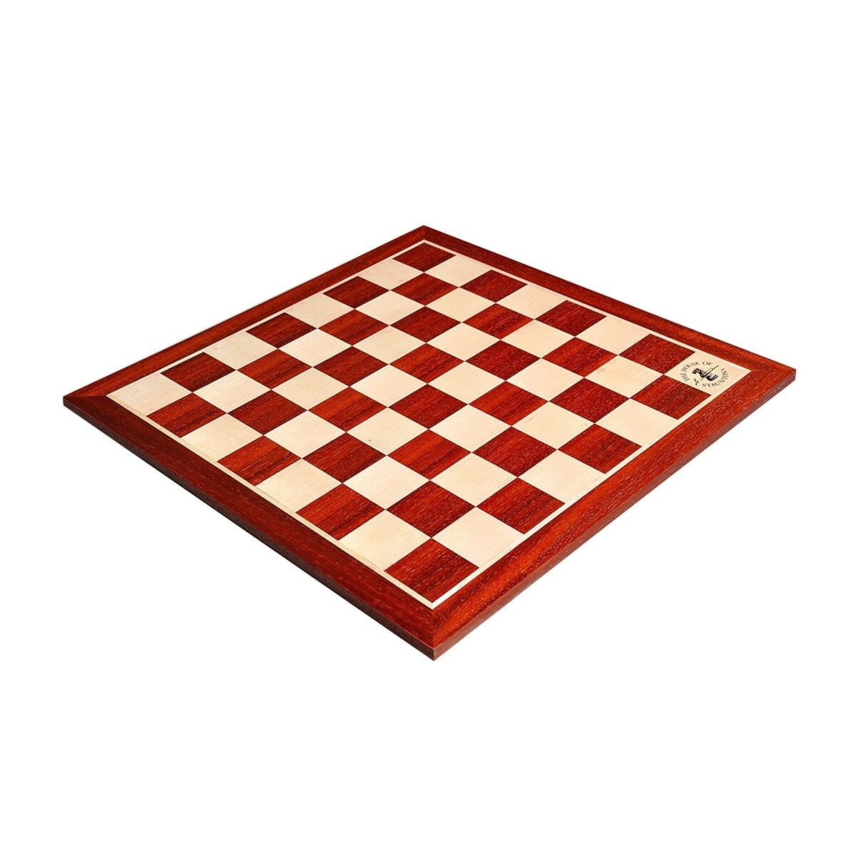 Padauk & Maple Wooden Chess tavola - 2.25  With  Logo  vendita scontata