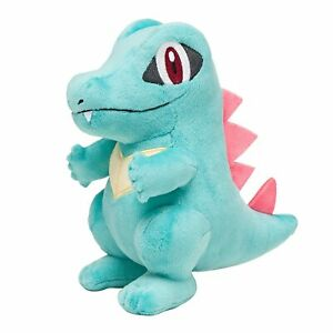 POKEMON-TOTODILE-PLUSH-8-034-TOTAL-HEIGHT-SOFT-TOY-NEW-Material-Tagged