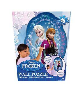 Frozen Wall Puzzle 46 Piece Ebay
