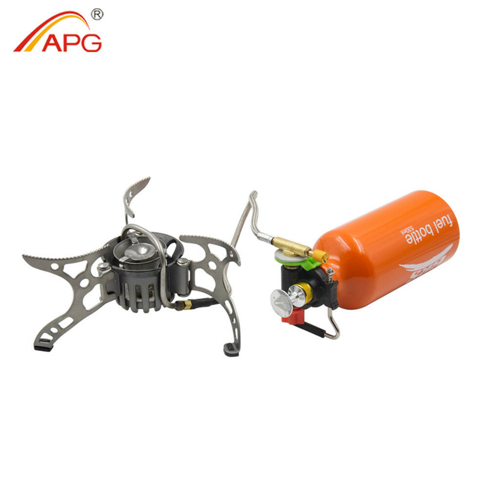 APG Portable Fuel Camping Stoves Multi-fuel Burner Outdoor Picnic Oil Gas Stove