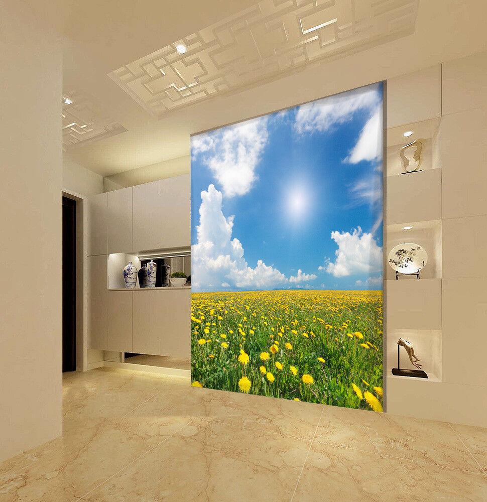 3D Schönes bluemenfeld 7 Tapete Wandgemälde Tapete Tapeten Bild Familie DE Summer