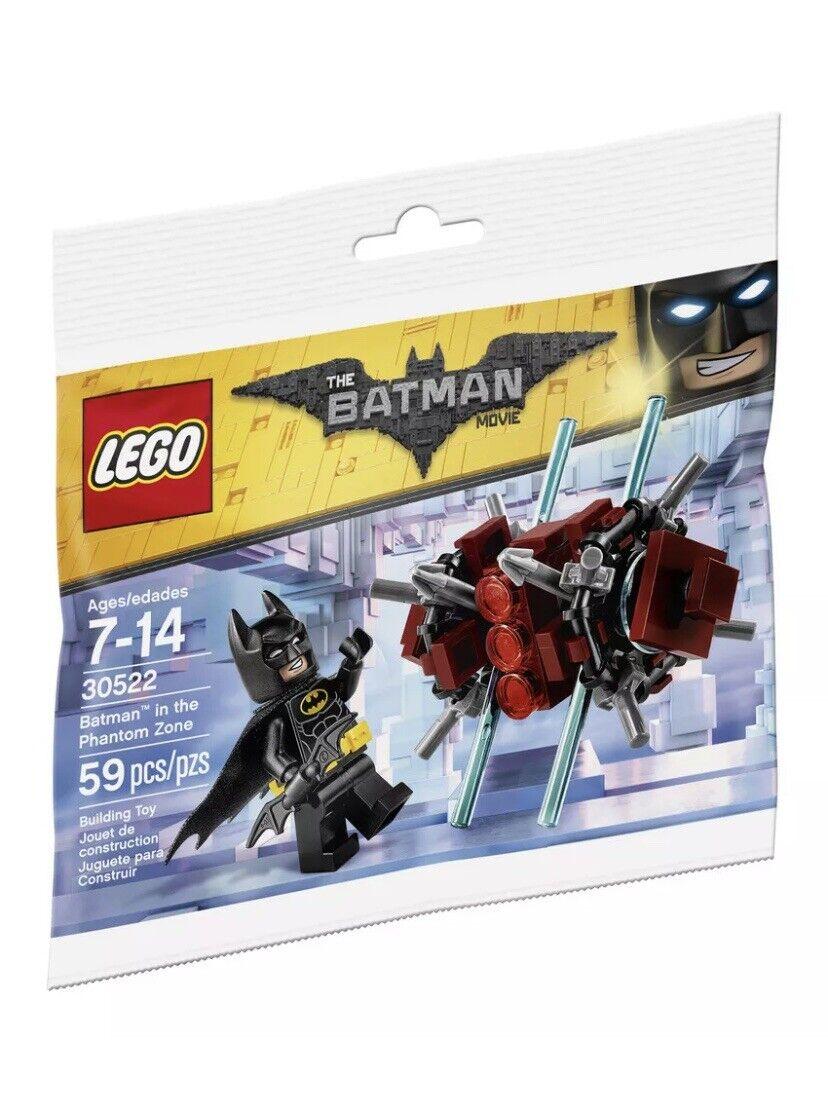 Lego The Batman Lego Movie Batman in the Phantom Zone 30522 NEW//SEALED 12//05