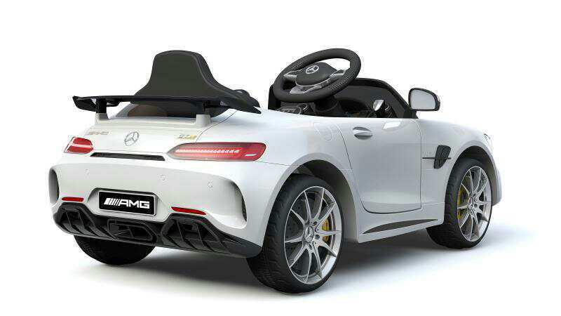 Kinder Elektro Auto Mercedes GT R 2x15W 2x15W 2x15W 2x6V (12V) Elektroauto Kinderfahrzeug 516893