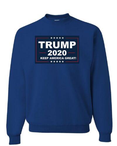 TRUMP 2020 Keep America Great Sweatshirt MAGA Republican Political Sweater